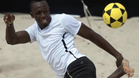 Usain Bolt Close To Turning Pro With Central Coast Mariners Football Club In Australia