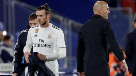 What Bale Was Doing During Real's Loss Proves He Doesn't Have A Future With The Club