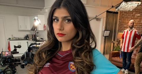 This Is The Real Reason Mia Khalifa Supports West Ham
