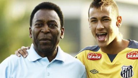 Pelé Regrets Not Having Taught This Move To Neymar