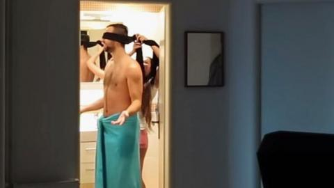 He Thought Being Blindfolded By Girlfriend Was Sweet, But It Ended Up Being Brutal