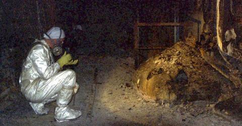 Dubbed The 'Elephant's Foot' This Aftermath Of The Chernobyl Explosion Could Still Kill In Minutes