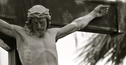 A Mysterious Ancient Time Capsule Was Found Hidden Inside This Statue Of Jesus