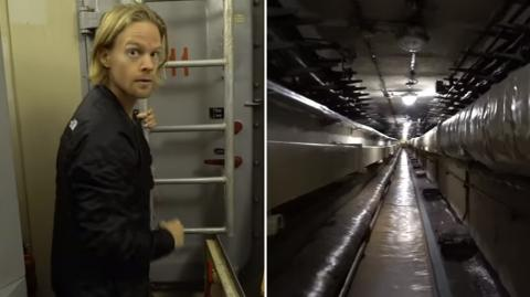 While Exploring An Abandoned Nuclear Bunker This Man Made A Chilling Discovery