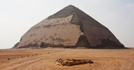 The Bent Pyramid In Egypt Is Finally Getting Ready To Reveal Its Secrets...