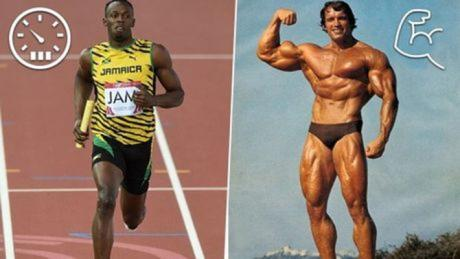 Usain Bolt And Arnold Schwarzenegger May No Longer Be The Fastest And Strongest Men In History