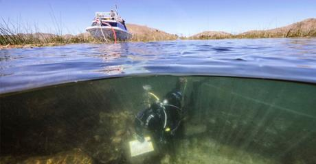 Archaeologists Stunned By Evidence Of A Mysterious Ancient Civilisation At The Bottom Of Lake Titicaca