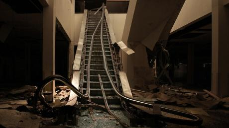 This Photographer Infiltrated An Abandoned Shopping Centre And What He Found Was Incredible