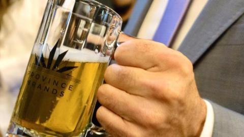 The First Ever Cannabis Beer Has Just Been Brewed In Canada