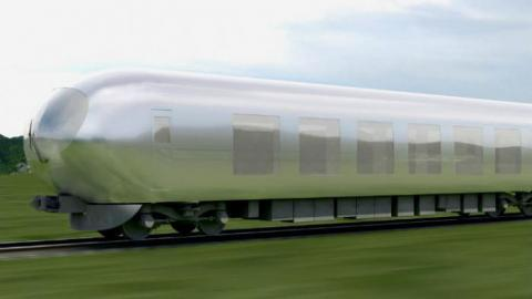 You'll Soon Be Able To Ride An Invisible Train