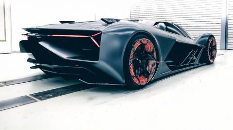 Lamborghini: The New Electric Terzo Millennio Sports A Carbon Fibre Body