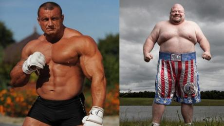 When Mariusz Pudzianowski, Ex-Strongest Man In The World, Went Up Against Butterbean, The Biggest Boxer In History