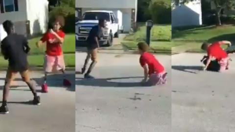 Boy With NO LEGS Ends Street Fight In Spectacular Fashion