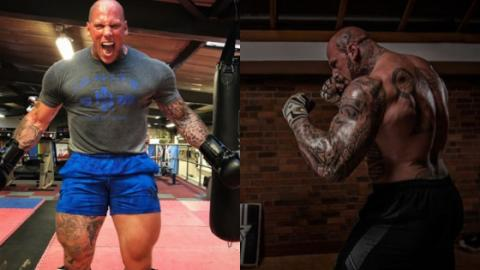 One Of The World's Most Impressive Bodybuilders Is Preparing For MMA
