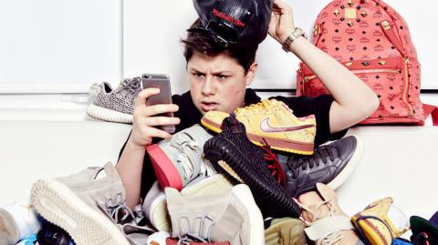 How This 18-Year-Old Became A Millionaire Selling Trainers To The Stars