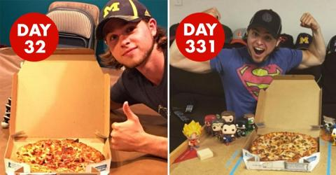 This Man Ate Domino's Every Day For Over A Year - And Proved A Surprising Point
