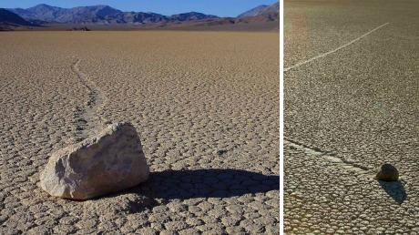 The Mystery Of The Moving Stones In Death Valley Has Been Solved