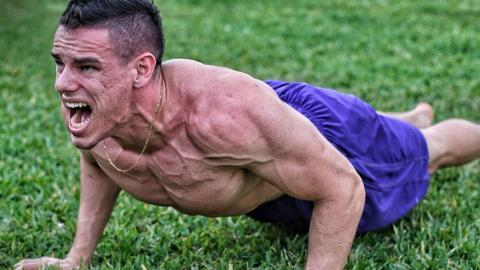 This Man Broke The World Record For The Most Push-Ups In 8 Hours