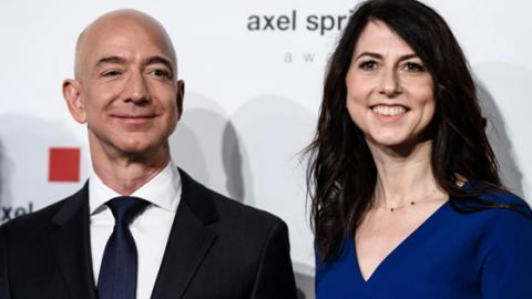 Amazon Boss Jeff Bezos' Divorce Just Became The Most Expensive Ever