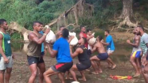 This Rugby Team Do An Insane Training Session Without Equipment