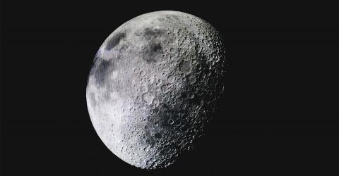China Reveals First Ever Images From The Dark Side Of The Moon