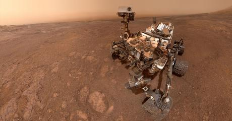 Check Out The Curiosity Rover's Brand New Selfie - From Mars