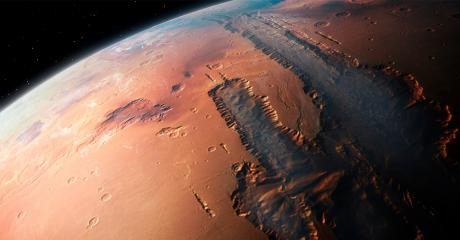 Scientists Believe Mars Could Have Harboured Life For A Vert Long Time