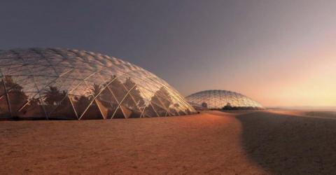 The UAE Is Currently Planning To Build The First City On Mars