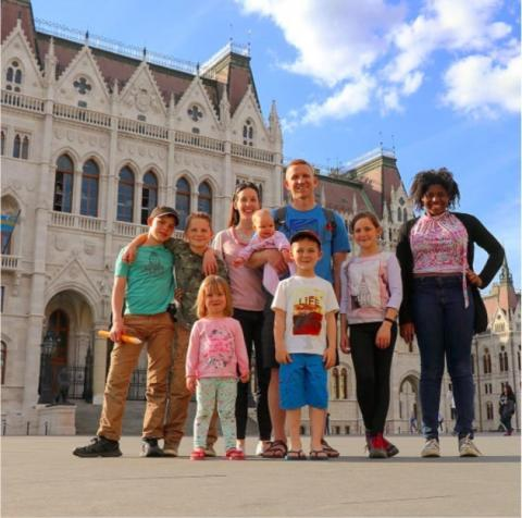This Family Of Nine Have Found The Perfect Way To Travel The World On A Budget