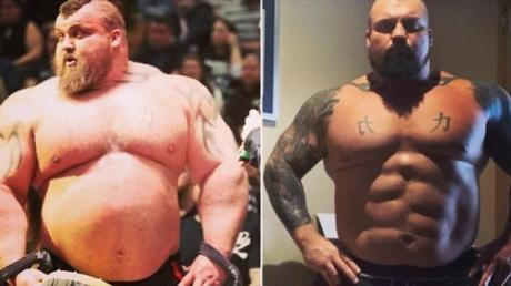 Eddie Hall Pulls Off Incredible Transformation In Preparation For New Show