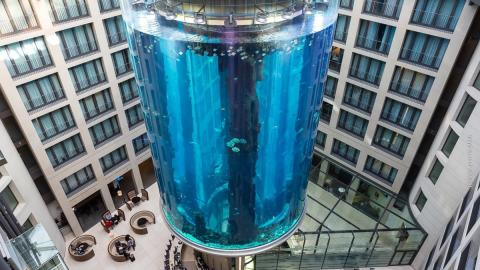 The World's Largest Aquarium Is In This German Hotel... And It's Incredible