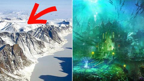 Scientists Believe They've Discovered The Lost City Of Atlantis In The Heart Of Antarctica
