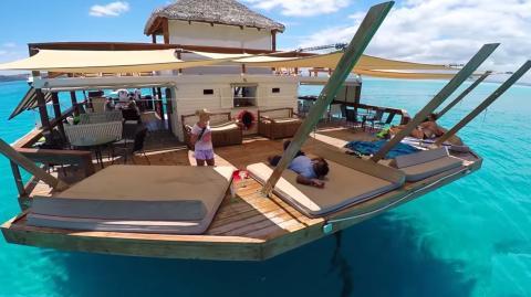 Cloud 9, The Unbelievable Floating Bar In Fiji, Is A Bucket List Must
