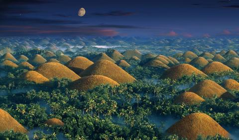 This Is The Truth Behind The Incredible 'Chocolate Hills' In The Heart Of The Philippines