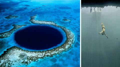 This Is Dean's Blue Hole... One Of The Most Extraordinary Places On Earth