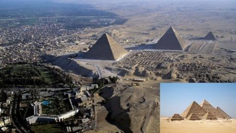 These Famous Monuments Look Totally Different When Seen From Afar
