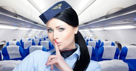 Flight Attendants Have Been Keeping This Big Secret From You...