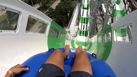 The World's Tallest Water Slide Is Absolutely Insane