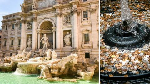 This Is What Really Happens To The Coins Thrown In The Trevi Fountain
