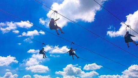 This Giant Zip Line Gives The Most Spectacular View Of Niagara Falls
