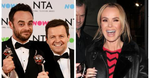 Amanda Holden Reveals She 'Definitely' Has A Preference Between Ant And Dec