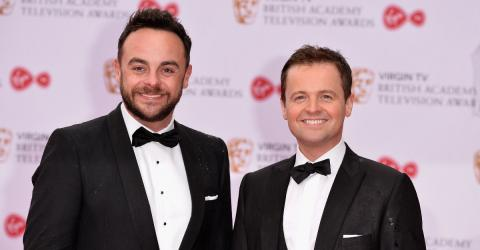 This Is The Emotional Moment Ant And Dec Were Reunited Onstage This Weekend