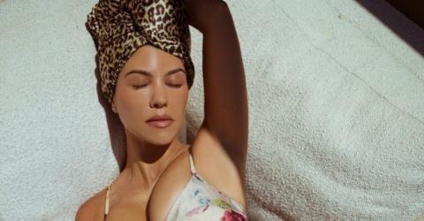 Kourtney Kardashian Celebrates Her Mum Body In A Bikini Snap