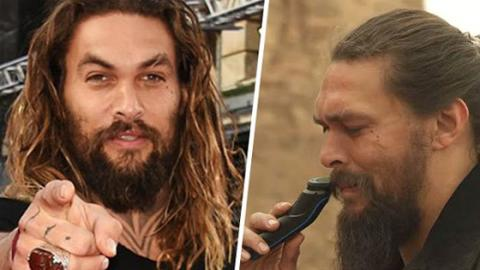 Jason Momoa Just Shaved His Beard For The First Time Since 2012
