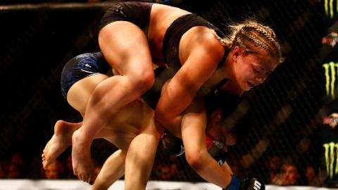 UFC Brooklyn: Paige VanZant Dislocates Rachael Ostovich's Arm And Wins By Submission