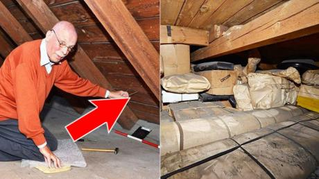 He Pulled A String In His Attic And Found An Incredible Priceless Treasure
