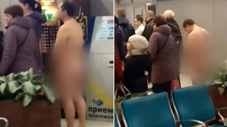 This Russian Man Wanted To Fly Naked For The Most Bizarre Reason
