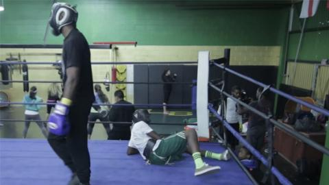 Father Sends Son To Spar With Pro Boxer To Teach Him A Lesson In How To Behave