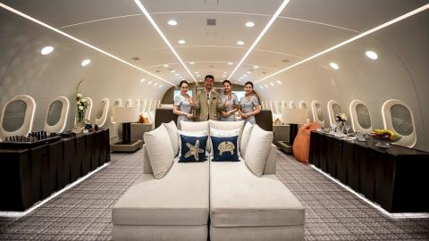 This Boeing 787 Is The Most Luxurious Plane On The Planet