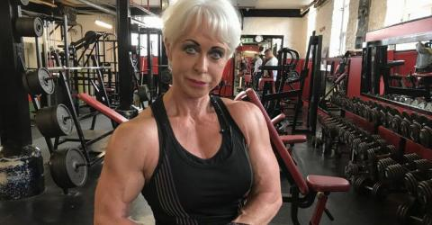 This 68-Year-Old Grandmother Is Unbelievably Strong